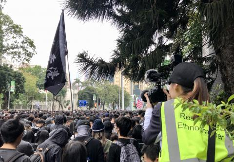 PhD ethnomusicologist Winnie W C Lai creates audio-visual ethnography in the 2019-20 Pro-democracy Protests in Hong Kong